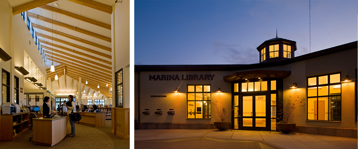 Marina Branch Library Integral Group