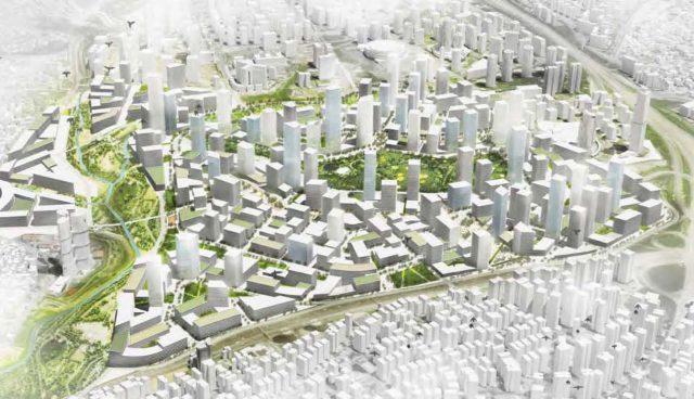 Masterplan profile - Atasehir Istanbul