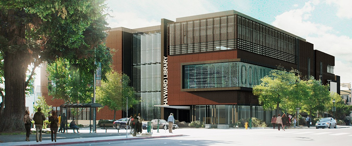 Hayward Library_Integral
