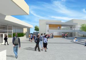 Los Gatos High School Music Building 1200x500