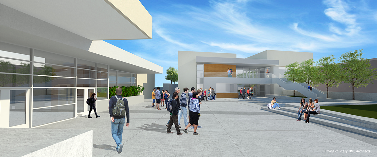 Los Gatos High School Music Building 1200x500