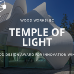 Temple of Light Wood Design Award (1)