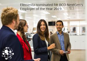 BCO NextGen's Employer of the Year 2019