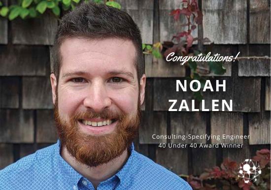 Noah Zallen 40 under 40