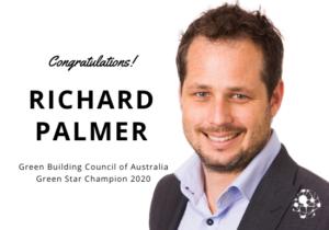 Richard Palmer GBCA Green Star Champion Award