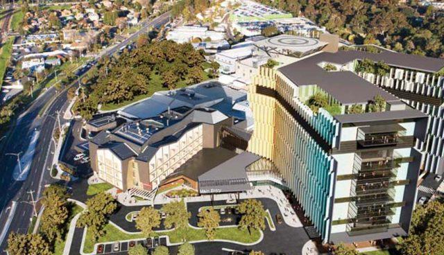 Frankston Hospital Render