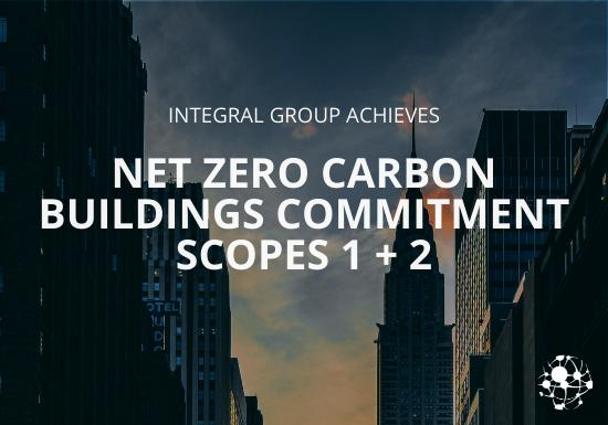 Net Zero Carbon Buildings Commitment Scopes 1 and 2