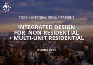 PGE Integrated Design Series