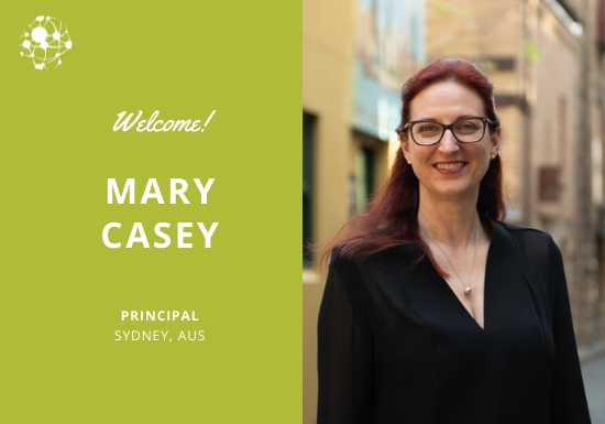 Welcome Mary Casey