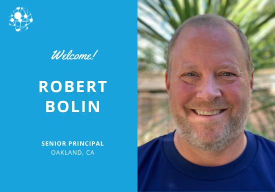 Welcome Robert Bolin