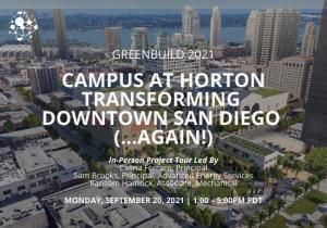 Campus at Horton Transforming Downtown San Diego