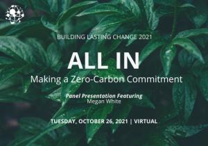 Building Lasting Change 2021