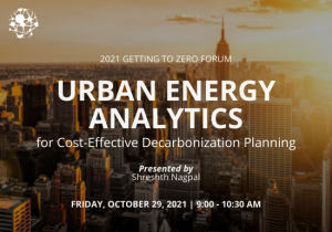 Urban Energy Analytics